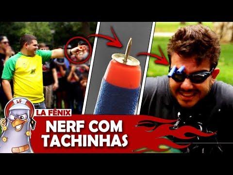 JOGO DO DADO GIGANTE COM NERF DE TACHINHAS 4