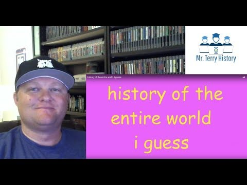 A History Teacher Reacts | History of the Entire World...I Guess