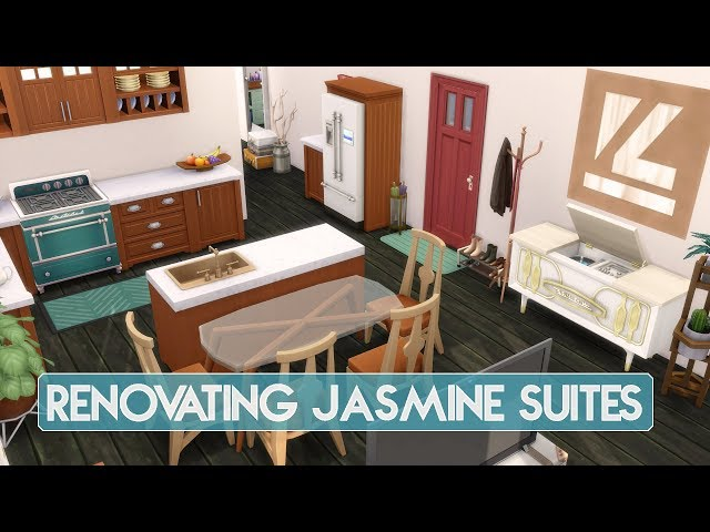 Sims 4 | Apartment Renovation | 2A Jasmine Suites