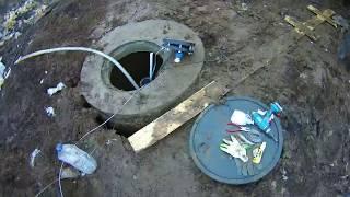 Проводим воду домой со скважины. Водоснабжение частного дома в Павлово Посадском районе.
