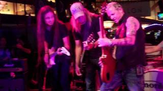 Monkey Grinder joined by members of Whitesnake, Tesla, and Lita Fords Band.
