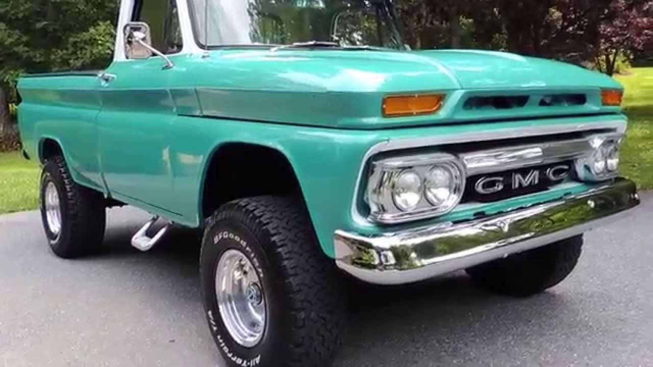 1966 GMC TRUCK FOR SALE SOLD - YouTube