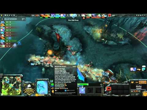 TnC Pro Team vs SAS - Corsair Gaming Arena Eighth Final - @durkadota @scantzor