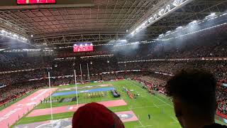 The best Welsh national anthem ever Wales Vs Italy 2020 Six Nations
