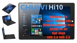 Планшет Chuwi Hi10 на Windows 10