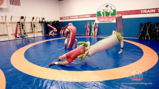 Suples Wrestling Equipment in Action