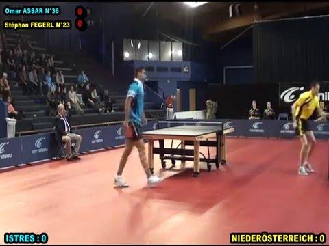 Table Tennis - ISTRES (Fra) Vs Niederösterreich (Aut) - ETTU Cup 2016