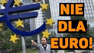 Dlaczego Polska nie powinna przyjmować euro?