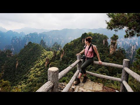 Avatar Mountains! Zhangjiajie National Forest