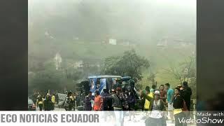 DOCE FALLECIDOS DEJA ACCIDENTE DE BUS QUE TRANSPORTABA INCHAS DE BARCELONA EN LA VIA EL CAJAS
