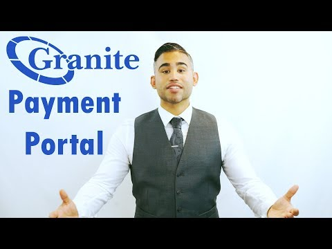 Granite's New Online Payment Portal
