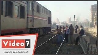 بالفيديو.. السكك الحديدية تستعين بـ