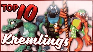 Top 10 Kremlings - Donkey Kong Month (feat. Perrydactyl)