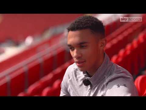 Trent Alexander Arnold living the dream at boyhood club Liverpool   Football News