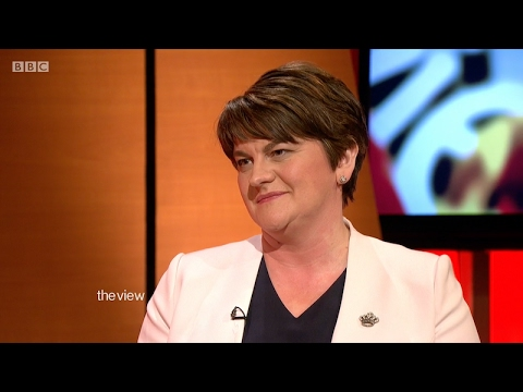 Arlene Foster grilled by Mark Carruthers