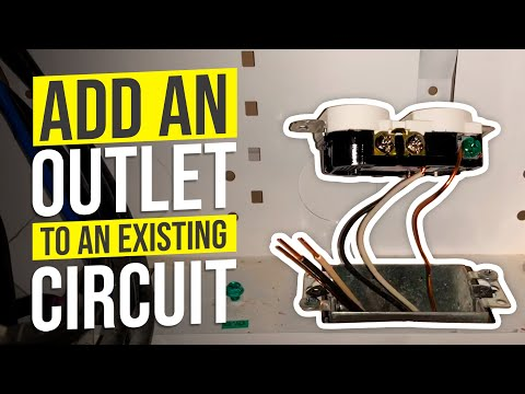 Add An Outlet To An Existing Circuit