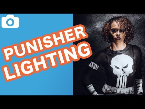 Photography Lighting Tutorial - Badass Punisher Bodypaint