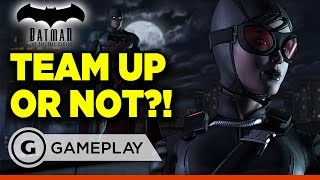 Vote for Dent - Batman: The Telltale Series Episode 2 Gameplay