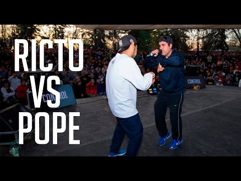 BDM Gold Chile 2016 / 8vos de final / Ricto vs Pope