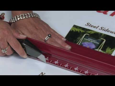 Steel Edge Rhino Safety Ruler from SpeedPress® Sign Supply