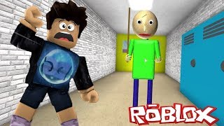 BALDI'S BASIC EDUCATION EN ROBLOX !! ESCAPA DEL PROFESOR - Roblox