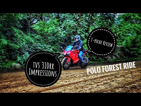 Polo Forest Ride | GoldenRiders T-Poche Useful Companion | TVS Apache 310RR Impressions