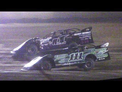 ULMS Super Late Model Heat Three | Eriez Speedway | 9-23-17