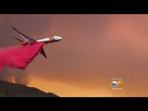 Holy Fire Grows To 9,400 Acres, Threatens Lake Elsinore