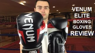 Venum Elite Boxing Gloves Review by Ratethisgear