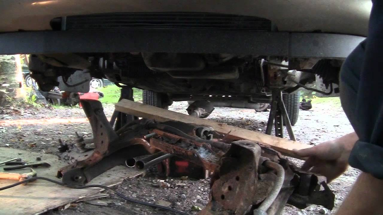 2004 Saturn Ion Engine Diagram Mini Cooper Suspension How To Replace A Gm K Frame Part 2 - Youtube