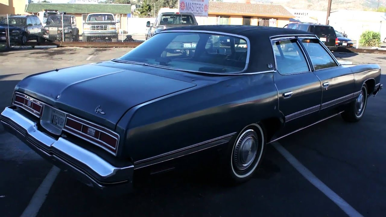 1974 Chevrolet Caprice Classic Impala Malibu DONK Glass House