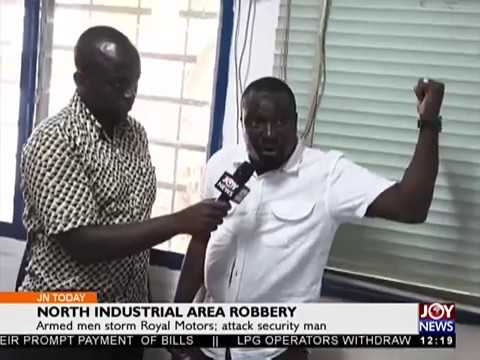 North Industrial Area Robbery - Joy News Today (27-2-18)