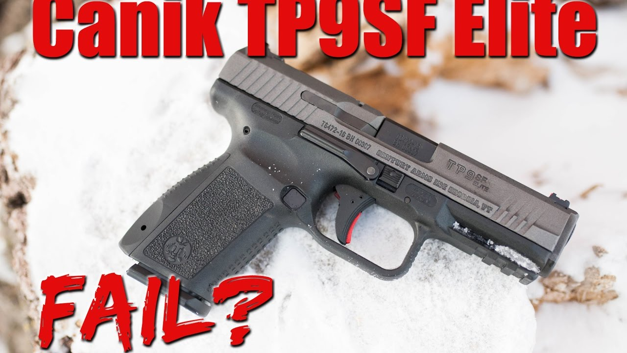 Canik TP9SF Elite 9mm Full Review: Not What I Expected