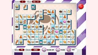 How to play Food Mahjong game | Free online games | MantiGames.com
