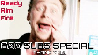 600 subscribers special video