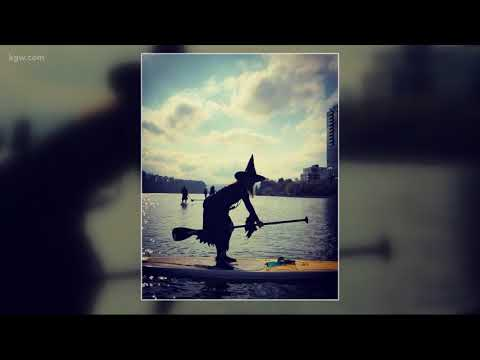 Coven Of Witches Paddle Down Oregon River | Bill Cunningham