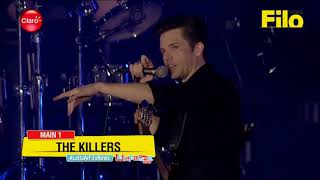 The Killers Lets FAN Play the DRUMS ON STAGE (and something crazy happens)!