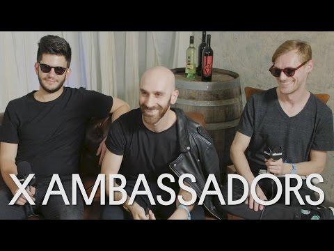 X Ambassadors Describe Their Band Through Emojis | BottleRock Napa Valley 2016