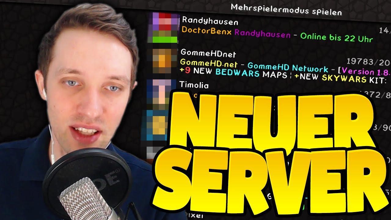 NEUER MINECRAFT SERVER 2016 - YouTube  NEUER MINECRAFT...