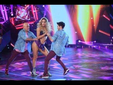 ¡El Bicho Gómez, Flor Vigna y Agustín Casanova bailaron un tremendo cuarteto!