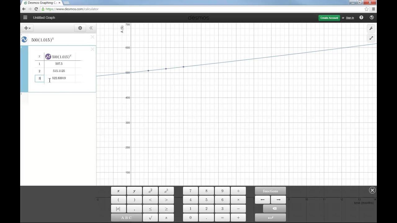 Desmos Online Graphing Calculator