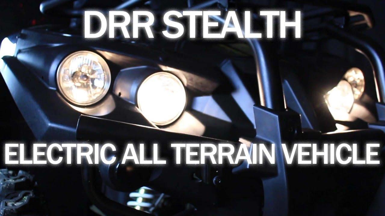 Electric ATV by DRR USA Silent Environmentally Friendly