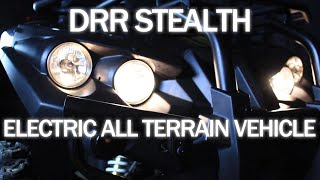 Electric ATV by DRR USA Silent Environmentally Friendly