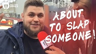 Howson: This Team About To Slap Someone! | Manchester United 4-0 Reading | FANCAM