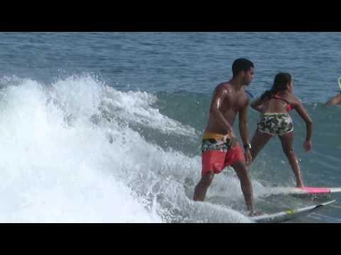 With Puerto Surf Lessons At La Punta, Puerto Escondido