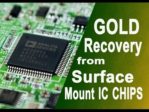 how to recover gold from computer parts pdf