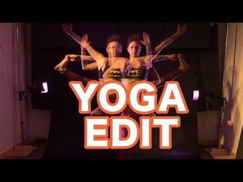 Long Exposure Yoga Edit (Recorded Live)