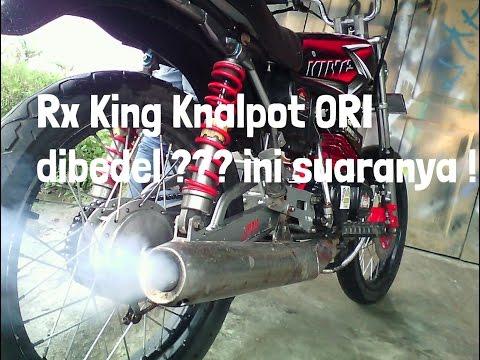 Suara Knalpot RX King ORI dibedel ( Garing )