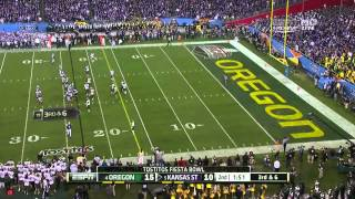 2013 Fiesta Bowl: Oregon Ducks vs. Kansas S