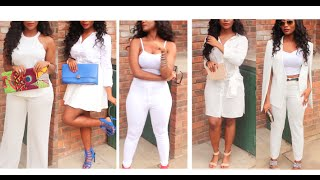 All White Everything Lookbook
